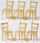Preiser 45219 6 Chairs